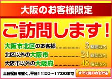 大阪府訪問